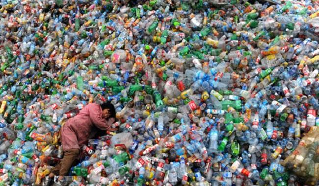 Pollution plastique Amérique