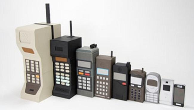 Premier téléphone 1983