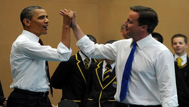 David Cameron et Barack Obama