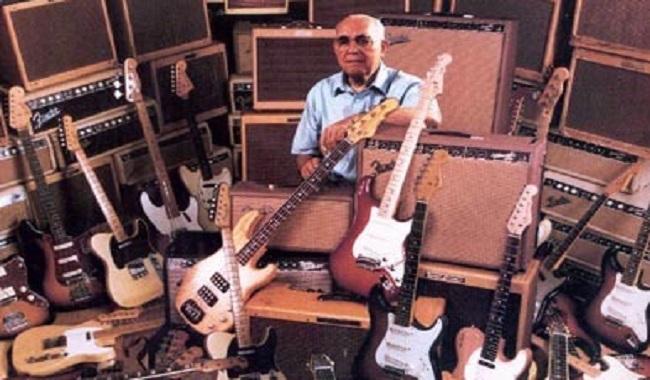 Leo Fender inventeur de la guitare
