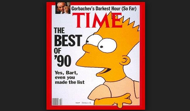 1998 les Simpsons dans le Time