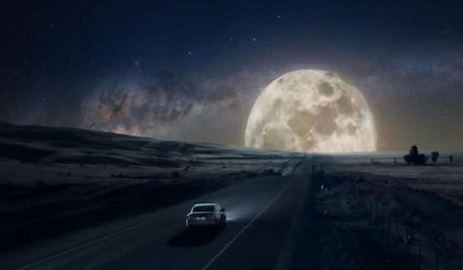Aller sur la lune en voiture