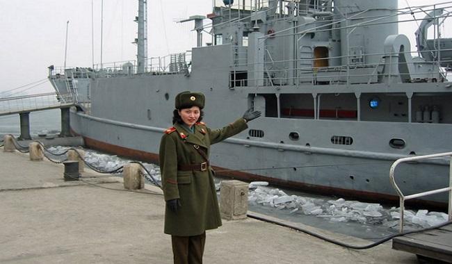 Bateau américain capturé par les Nord Coréens