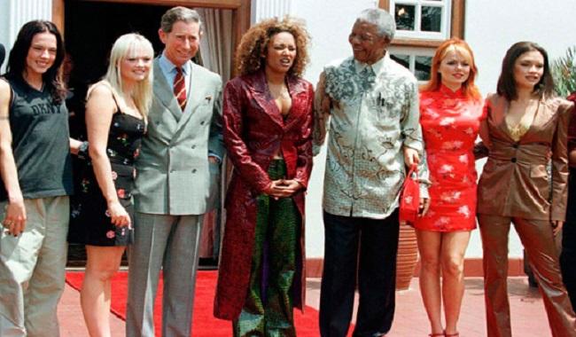 Nelson Mandela et les Spice Girls