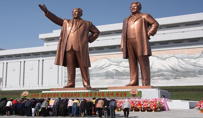 Peuple Nord Coréens soumis