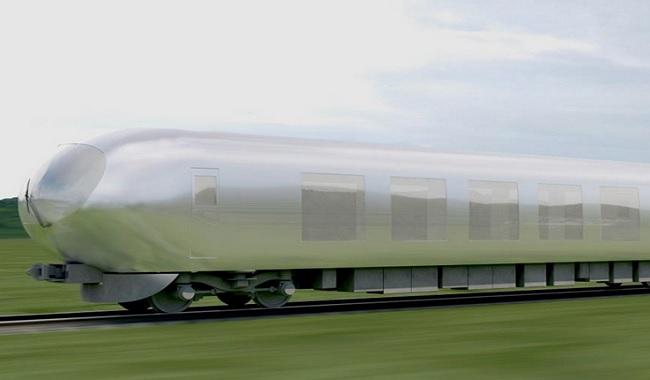 Train invisible au Japon