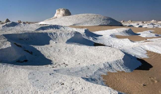Neige au Sahara
