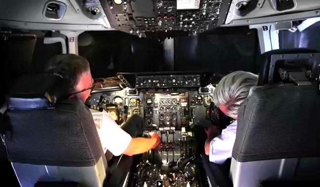 Pilotes d'avion qui dorment
