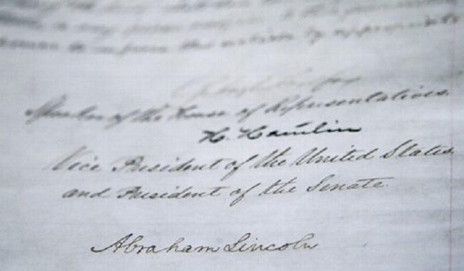 13eme amandement abolition de l'esclavage