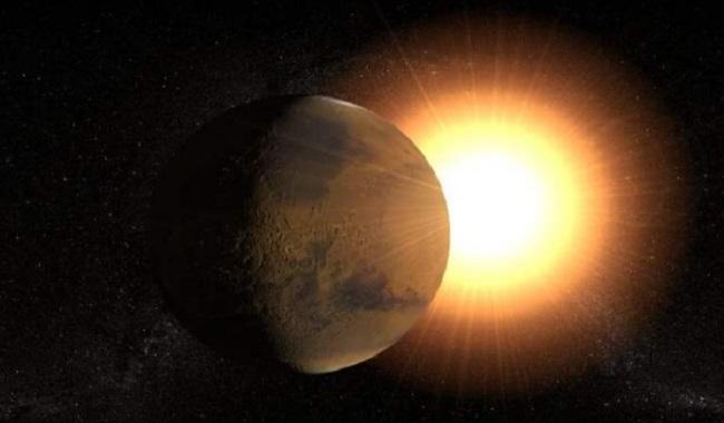 Pluton et le Soleil