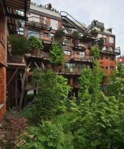 Verde treehouse en Italie à Turin