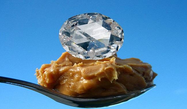 Beurre d'arachide en diamant
