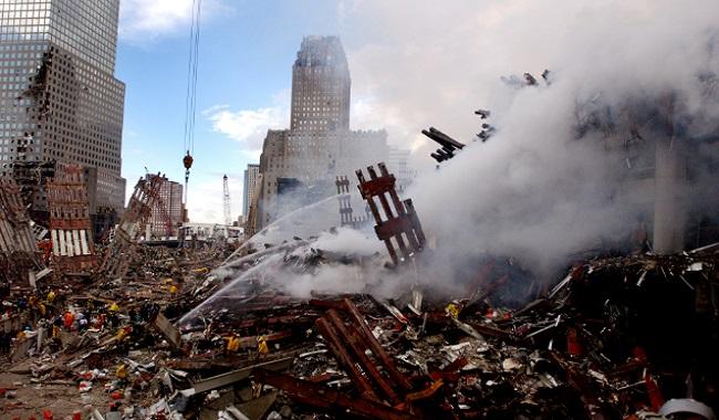 Décombres du World Trade Center