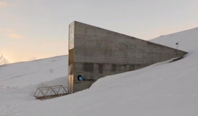 'Doomsday' voûte de semences congelées de Svalbard