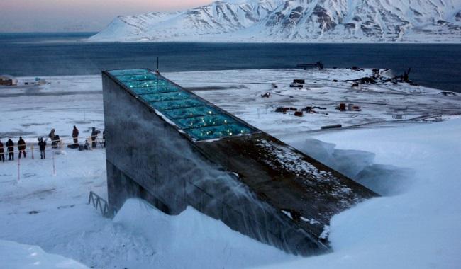 Réserve mondiale de graine de semance Svalbard