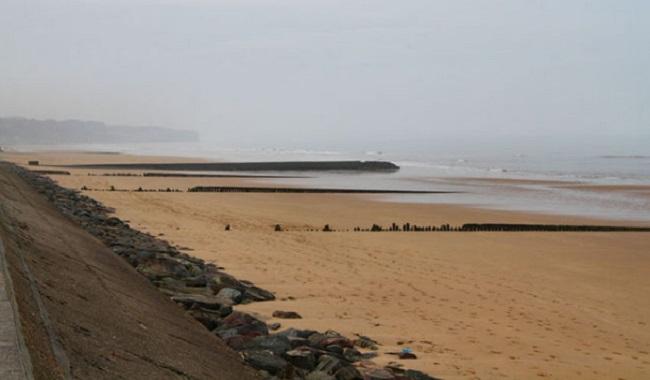 Sable des plages de Normandie